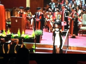 rebecca graduation screenshot
